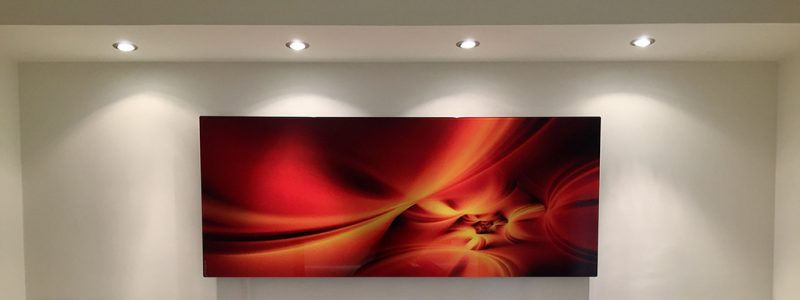 Infrared Heating Panel on wall
